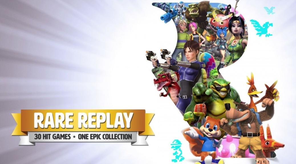 rare-replay header